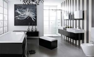 Come arredare un bagno in bianco e nero padova vicenza