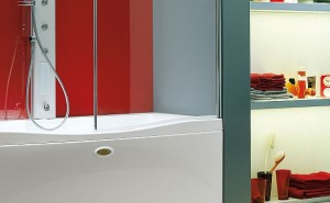 vasche con doccia Jacuzzi