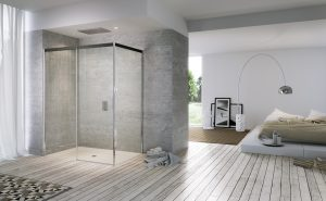Porte scorrevoli doccia per spazi ampi