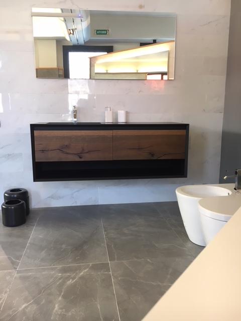 Tendenze dei materiali bagno 2018